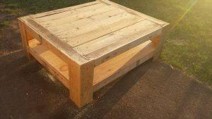 Upcycled Wood Pallet Coffee Table