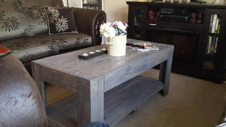 reclaimed p allet vintage inspreclaimed p allet vintage inspired coffee tableired coffee table