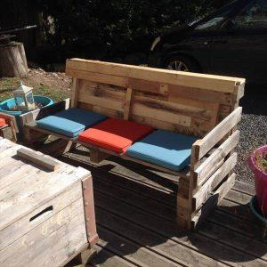 diy pallet patio furniture set