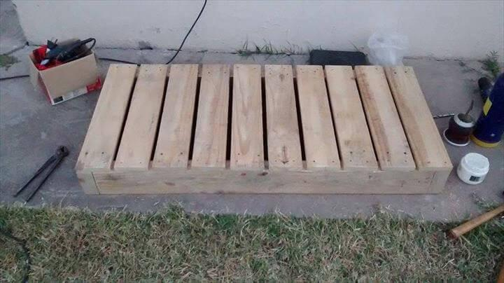 rustic pallet table top