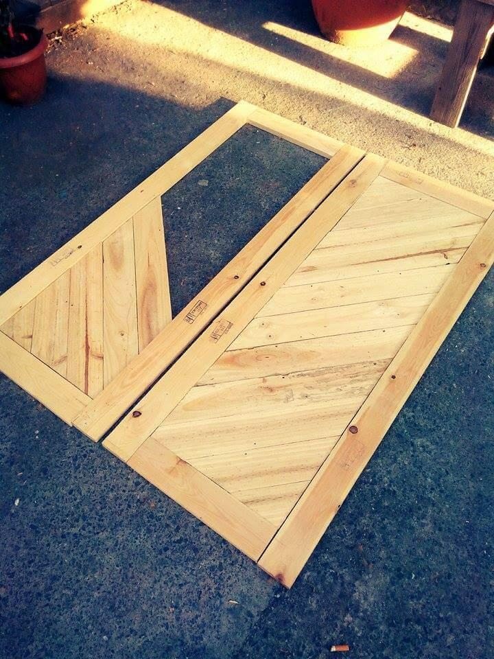How To Build Pallet Cabinet For Storage Easy Pallet Ideas