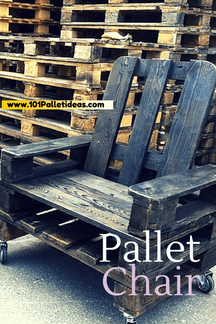 DIY Pallet Chair Instructions