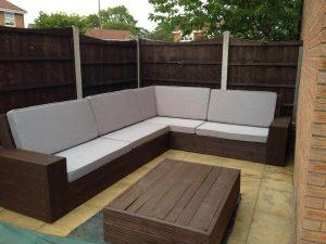 DIY Pallet Sectional Sofa for Patio – Self-Installed 8-10 Seater