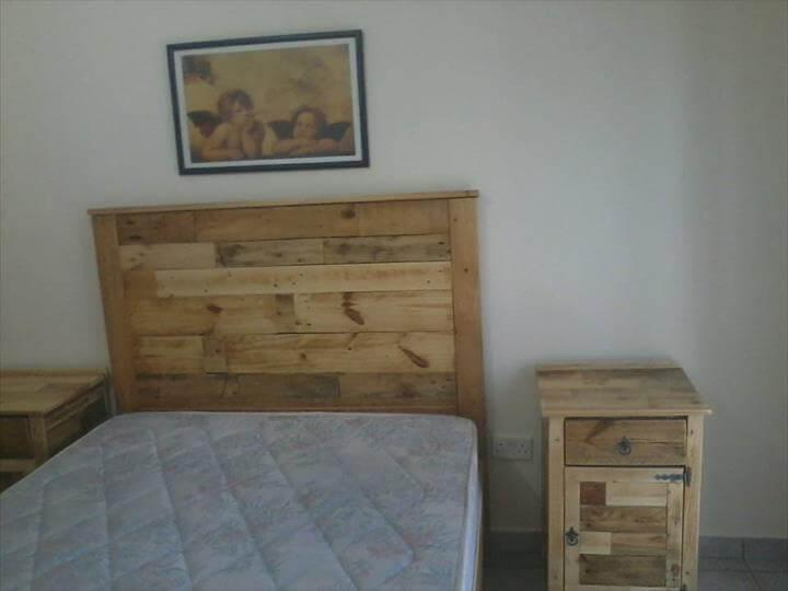 pallet bedroom set bedroom furniture refurbish with pallets easy pallet ideas 12787