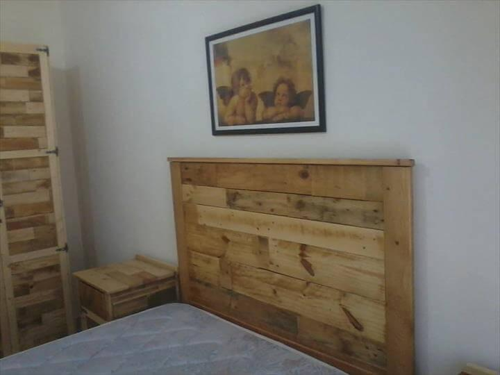 Bedroom Furniture Refurbish With Pallets Easy Pallet Ideas