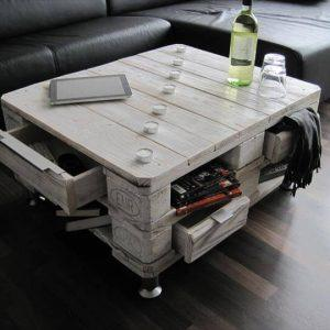 diy pallet shabby chic pallet coffee table