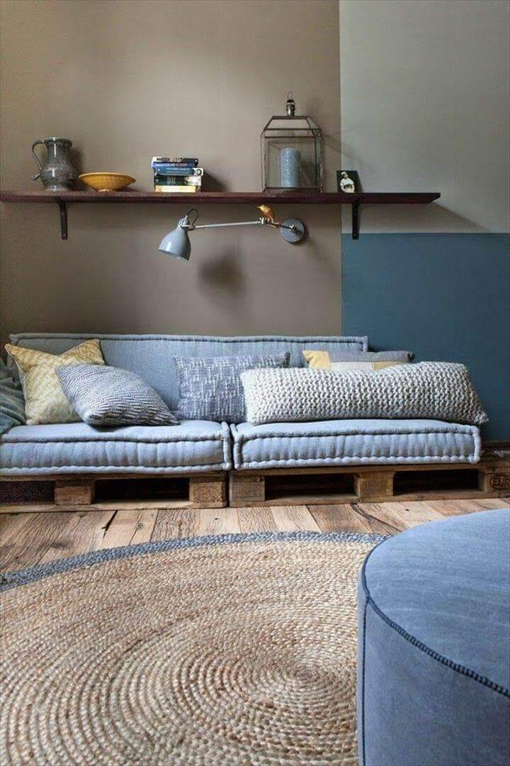 whole pallet low cushioned sofa