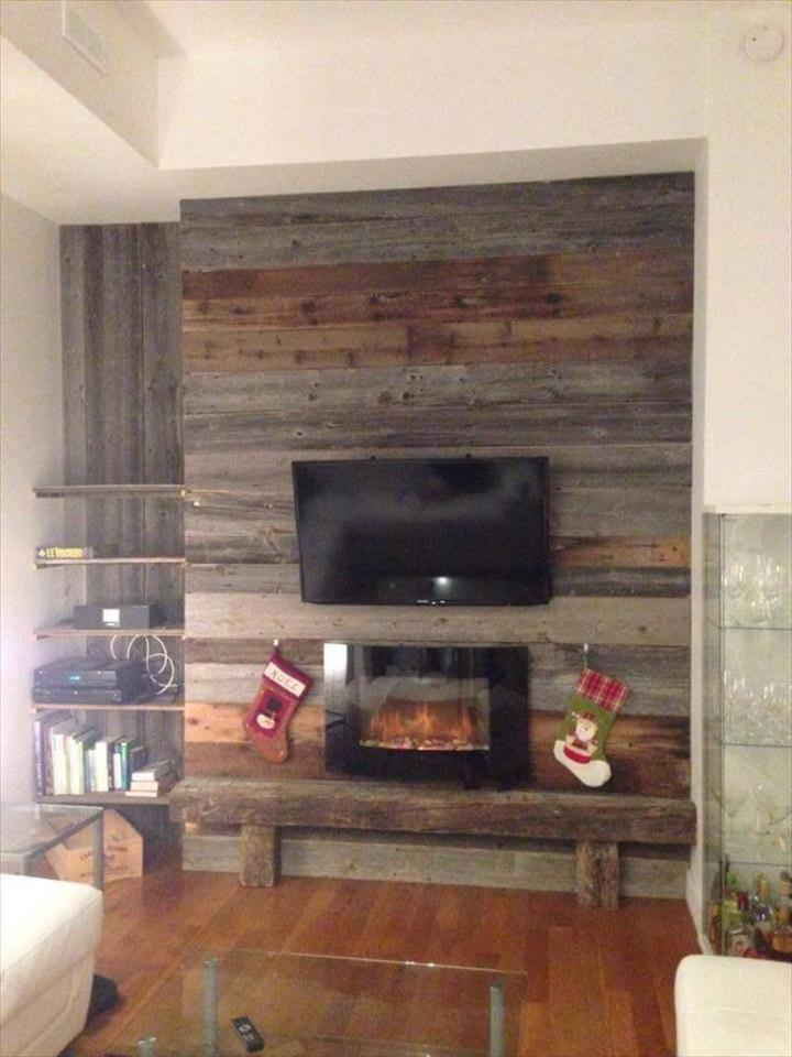 Light Wood Paneling: DIY Wood Pallet Wall Ideas And Paneling