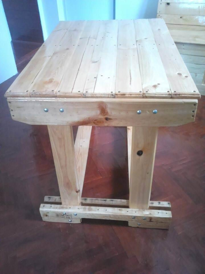 diy pallet mini table
