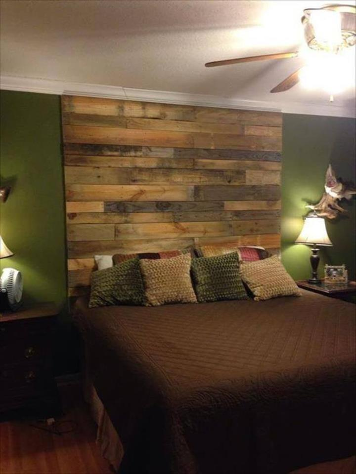 DIY Wood Pallet Wall Ideas and Paneling - Page 2 of 4 - Easy