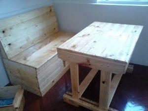 reclaimed pallet kids furniture