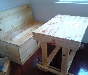 reclaimed pallet kids furniture