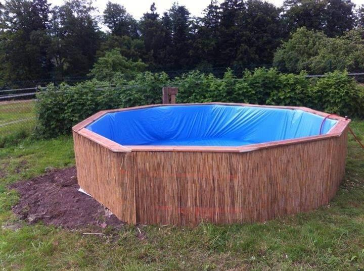 upcycled pallet pool