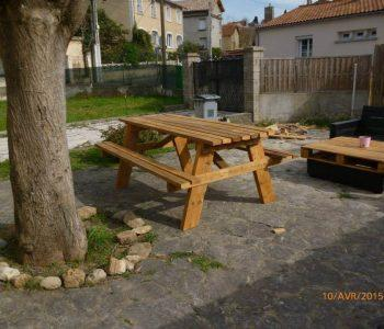 diy pallet picnic table