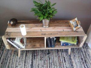 reclaimed retro styled pallet coffee table