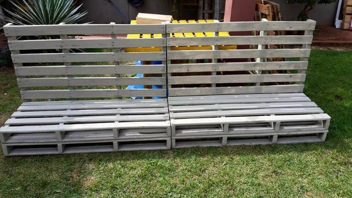 reclaimed pallet whole pallet sofa frame