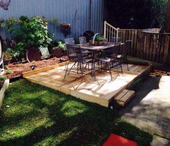 wooden pallet home deck remodeling