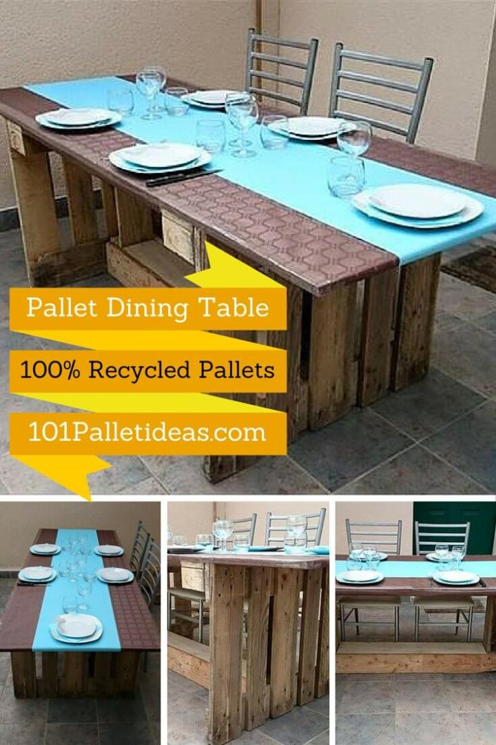 DIY - Pallet Dining Table