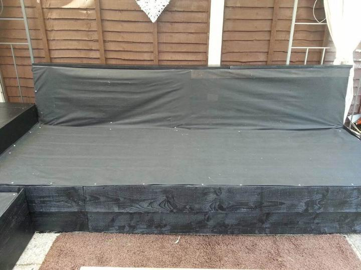 giving a water proof fabric cover