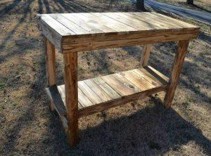 Pallet Kitchen Island – Console Table