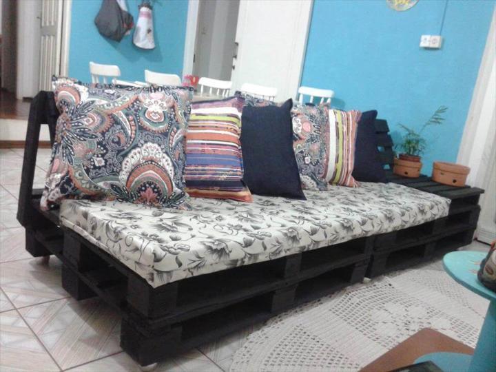 Diy Pallet Sofa Tutorial Easy