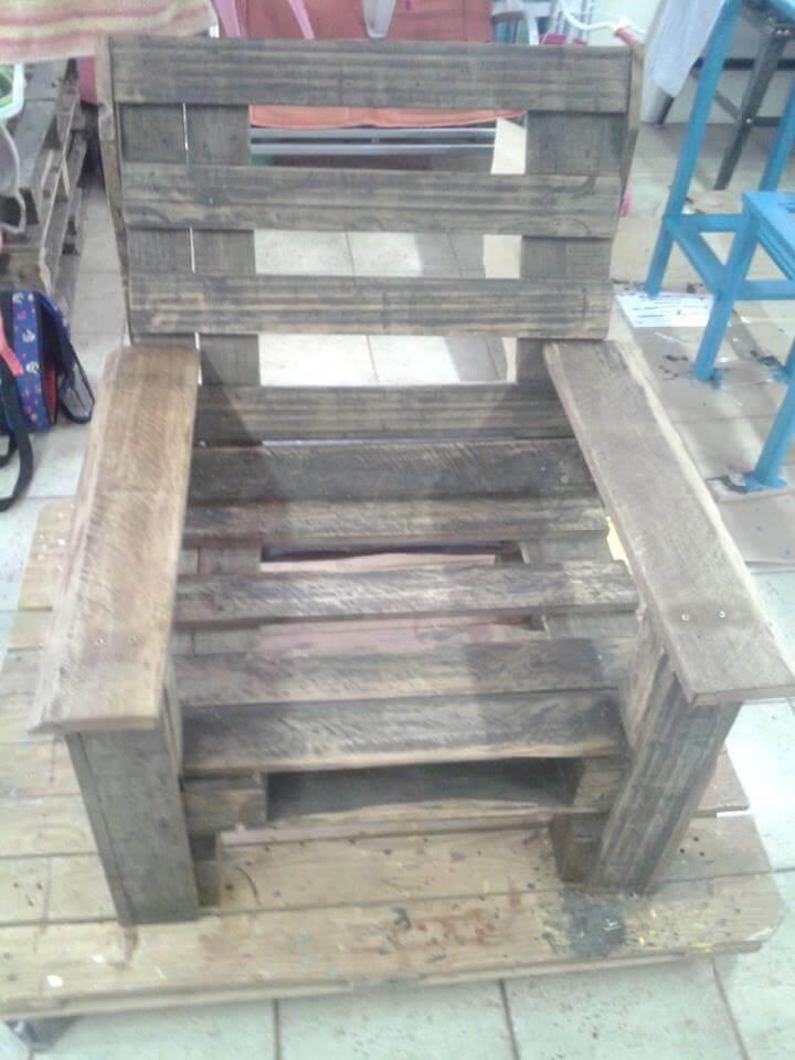 diy vintage inspired wooden chair