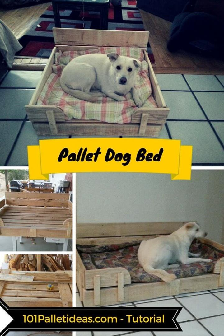 How to Make a Pallet Dog Bed