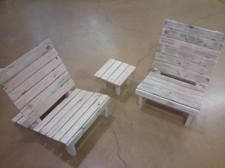 repurposed pallet kids furniture