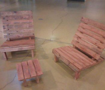 diy pallet kids furniture set