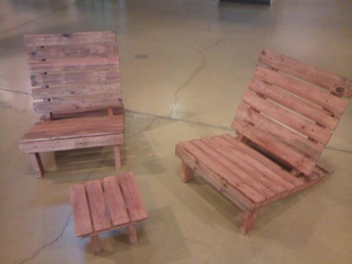 diy pallet kids furniture set