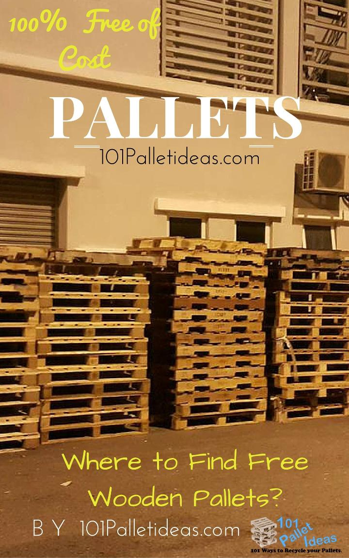 Where to Get Pallets? Free Pallets for Sale Near me
