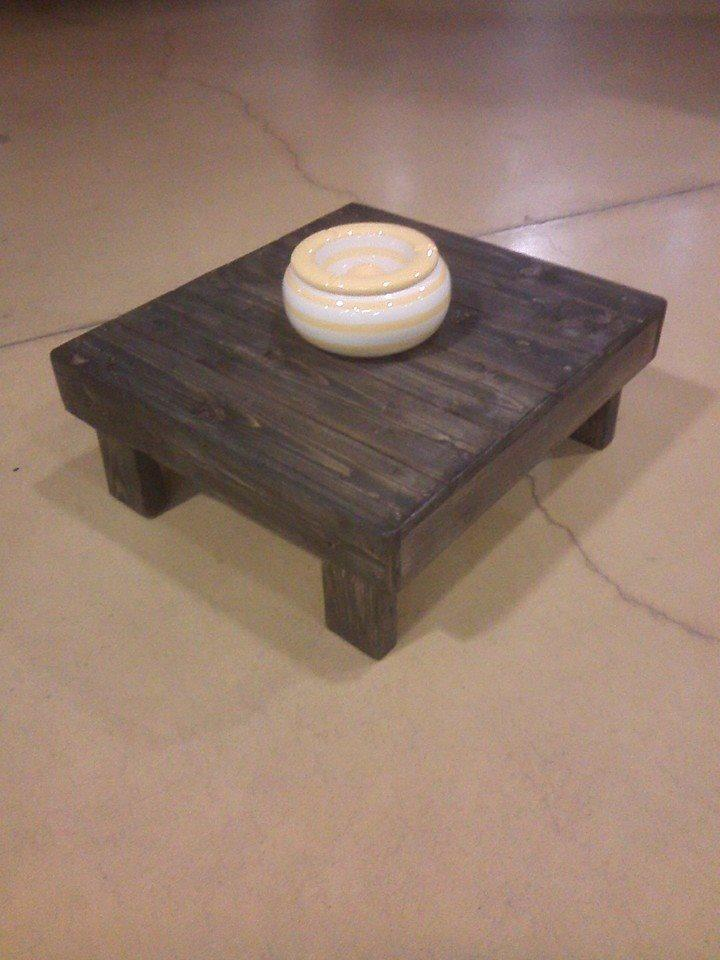 upcycled pallet little coffee table