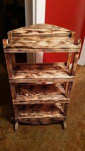 Upcycled Pallet Bookshelf