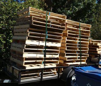 rustic pallet boards