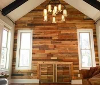 pallet interior wall paneling