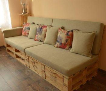 diy pallet sofa with drawers