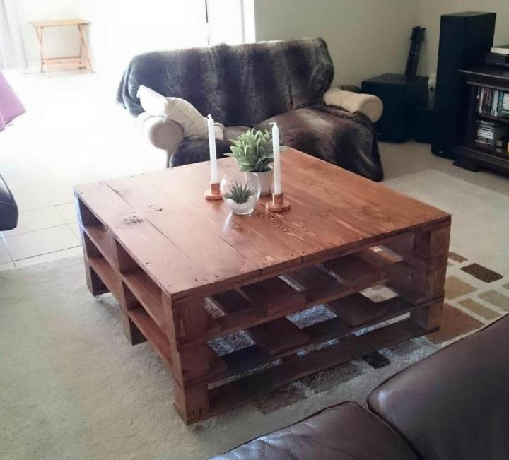 20 Diy Pallet Coffee Table Ideas Page 4 Of 5 Easy