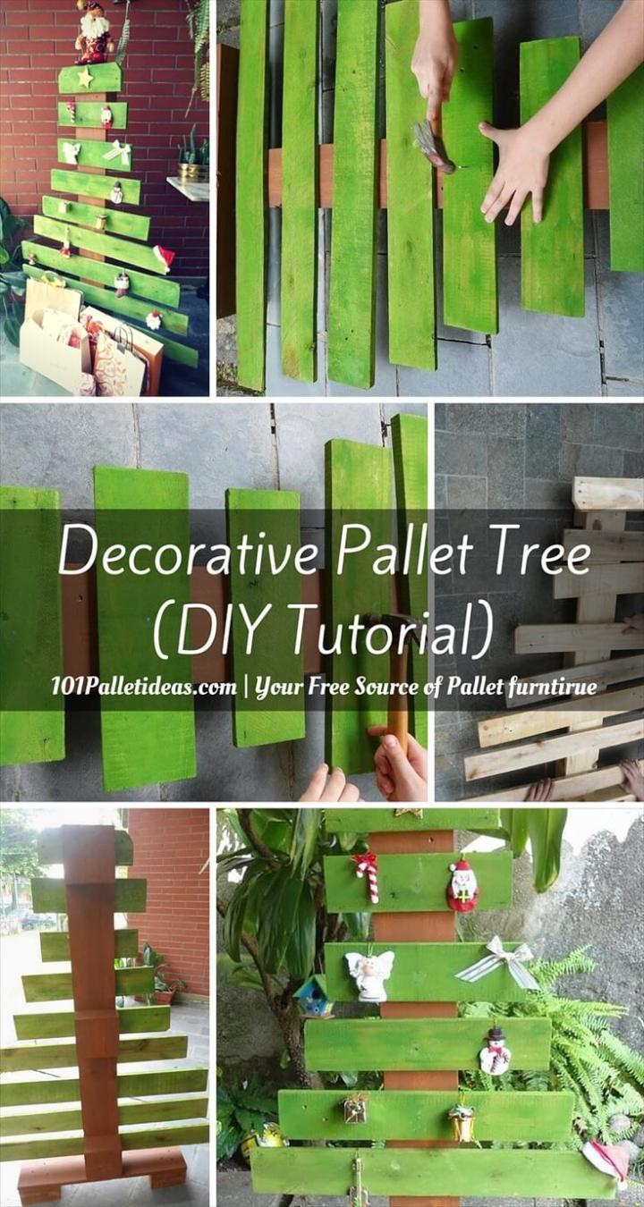 DIY Pallet Tree