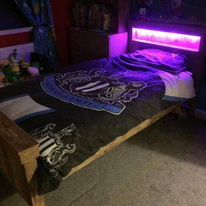 diy pallet single bed