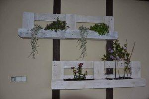 Hanging Pallet Wall Planters