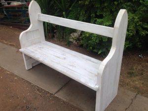 accent pallet bench