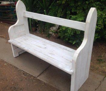 accent pallet bench