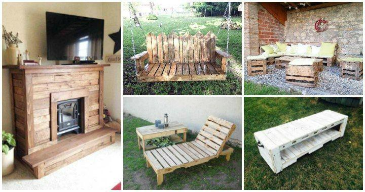 125 Awesome Diy Pallet Furniture Ideas Page 5 Of 12 Easy