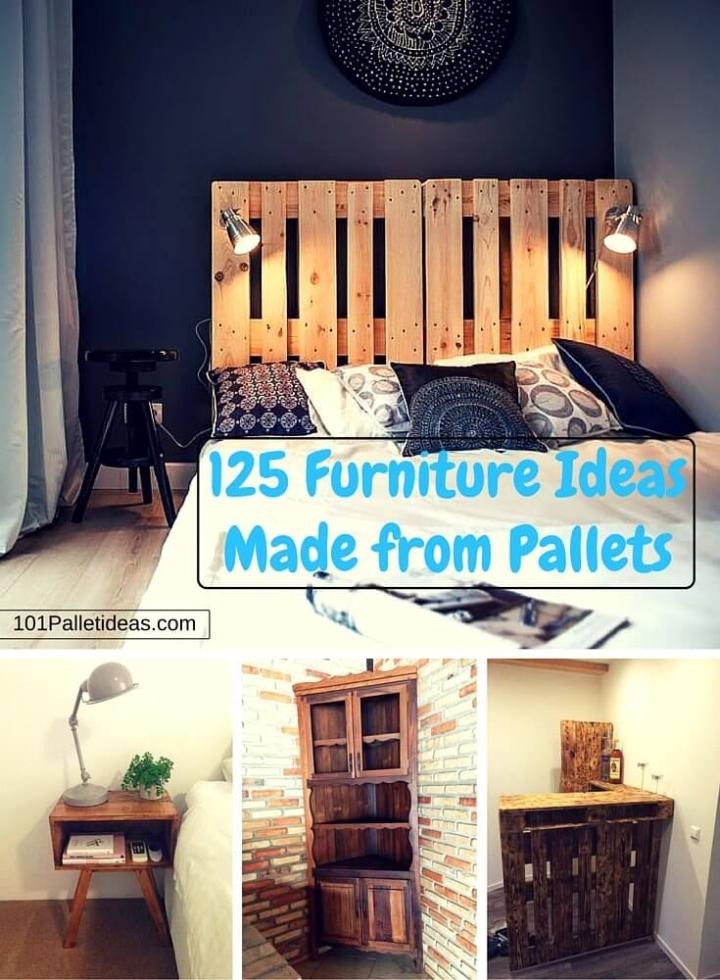 Free Pallet Furniture Ideas