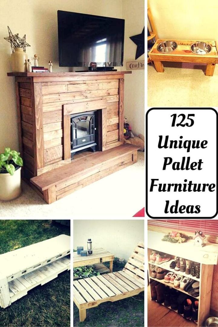 Furniture You Can Build with Pallets