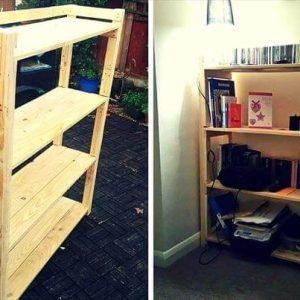 Pallet Bookcase