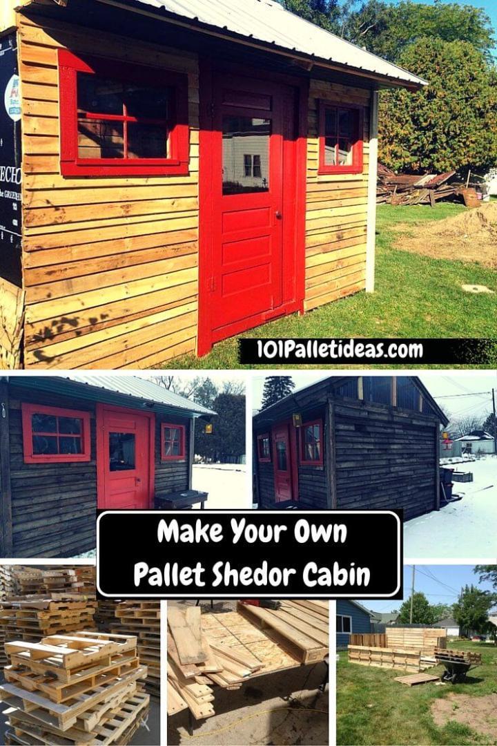 pallet shed, Pallet cabin