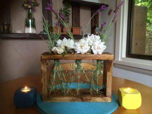 Pallet Dining Table Decor Piece