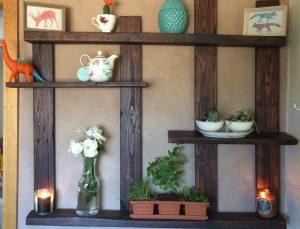 Pallet Shelf for Wall Decor