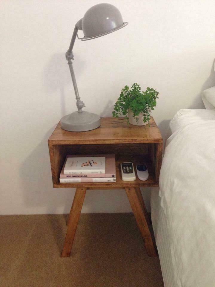 pallet nightstand